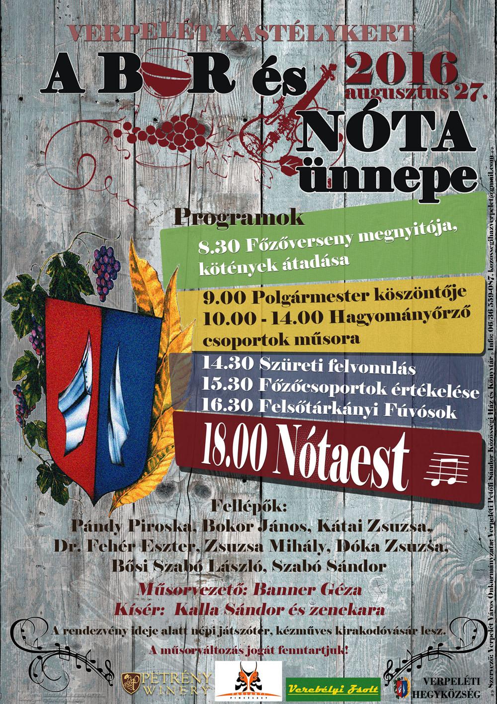 Verpelét A bor és a nóta faluja 2011